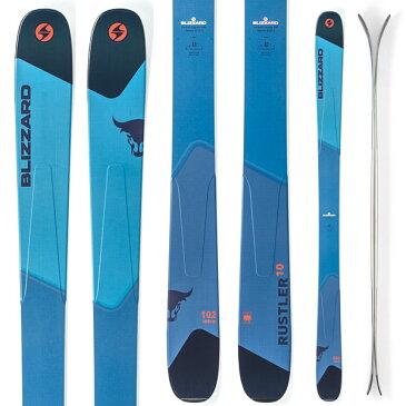 期間限定ポイント10倍 [送料無料] BLIZZARD ブリザード 18-19 ski 2019 スキー RUSTLER 10 ラスラー10 (板のみ) パウダー ロッカー (-):