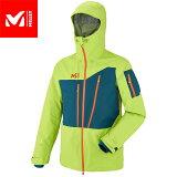 MILLET ミレー Mホワイトネオ3Lジャケット MWHITENEO3LS JKT 2018FW スキーウェア ジャケット MEN'S (ACIDGREEN-POSEIDON):MIV8058