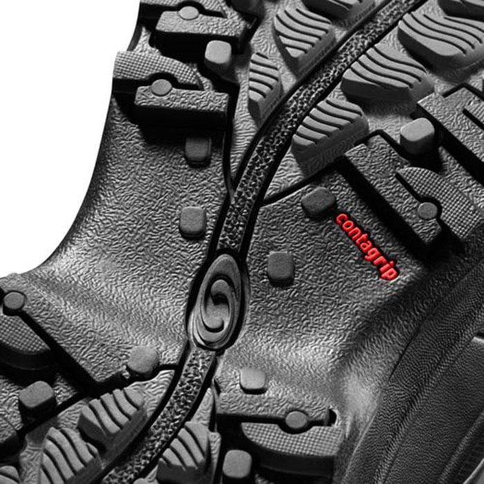 サロモン SALOMON TOUNDRA PRO CSWP W 〔ウィメンズ Footwear ウィンターシューズ 防寒靴〕 17/18 (PHANTOM-Bk-A):L39972200 [56-SHOES¥]