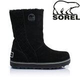 SOREL ソレル 2018秋冬 ブーツ 防寒靴 ウィンターシューズ ブーツ グレイシー GLACY レディース (ブラック):NL1975