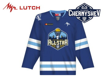 ※旧モデル※ LUTCH/ルッチ KHL Replicaジャージ 〜ALLSTAR CHERNYSHEV青〜 シニア【KHLグッツ】 2017-18