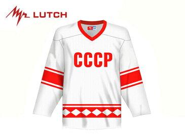 LUTCH/ルッチ CCCP Replicaジャージ ※WHITE※ シニア【RUSSIAグッツ】 1980-1981