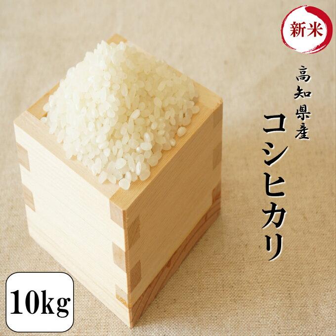 新米 令和元年産 お米 10kg 高知県産コシヒカリ 10kg(5kg×2袋) 安い...