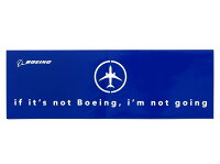 【IfIt'sNotBoeingSticker】ボーイングスクエアステッカー