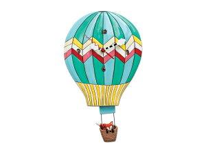 【Allen Designs Studios Hot Air Balloon Wall Clock】 アレンデザイン 気球 振り子 壁掛け時計