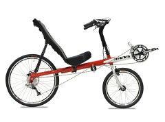 送料無料次世代型自転車!リカンベントバイクRANS(ランズ)ROCKET フレームセット