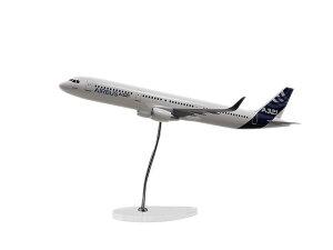 Airbus Executive A321 CFM new sharklets 1/100 scale model エアバス 飛行機 スケール モデル