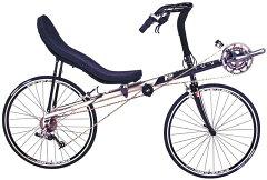 送料無料次世代型自転車!リカンベントバイクRANS(ランズ) F5 PRO 2011モデル