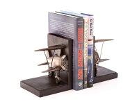【BiplaneBookends】複葉機ブックスタンド