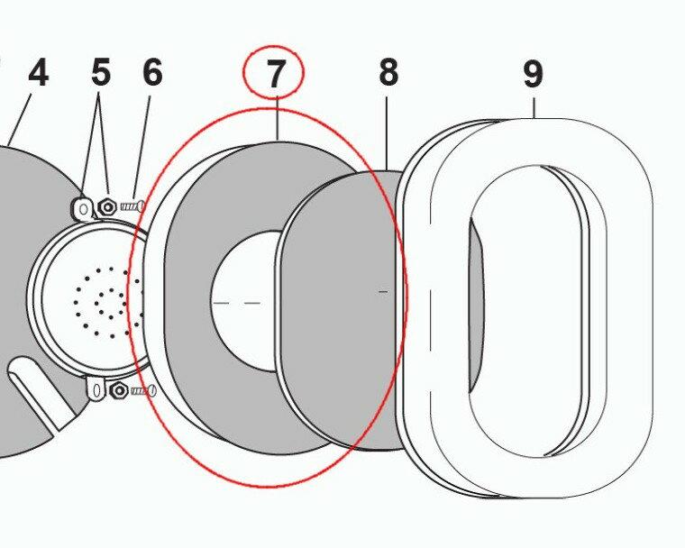 (デビッドクラーク)DAVID CLARK Dome Filter (25629P-05)