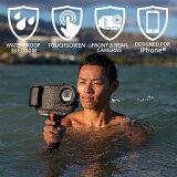AquaTech-AxisGO防水ハウジングforiPhone11ProMax/XSMax【DeepBlack】