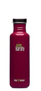 繰り返し使用できる飲料用の美しいボトル錆びにくいステンレススチールなので内部コーティング...