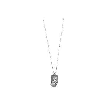 CHROME HEARTS DOG TAG FLERKNEE / DIAMOND クロムハーツ ドッグタグ フレアニー ネックレス ダイヤモンド