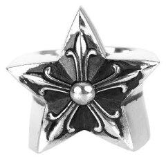 クロムハーツ ラージスター リング(指輪)