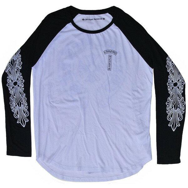 CHROME HEARTS LONG SLEEVE T-SHIRT HORSESHOE/CH PLUS クロムハーツ メンズ ロングTシャツ ホースシュー/CHプラス:SKYTREK