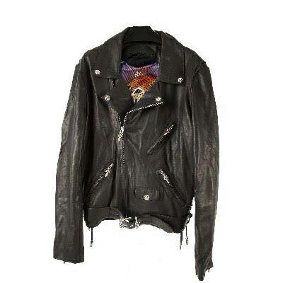 HERMES leather jacket CHROME HEARTS MENS JJ DEAN...