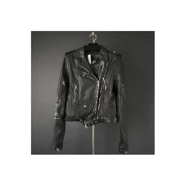 CHROME HEARTS WOMENS LEATHER JACKET クロムハーツ レディース PPO LAURIE レザージャケットV:PETE PUNK OFFSPRING