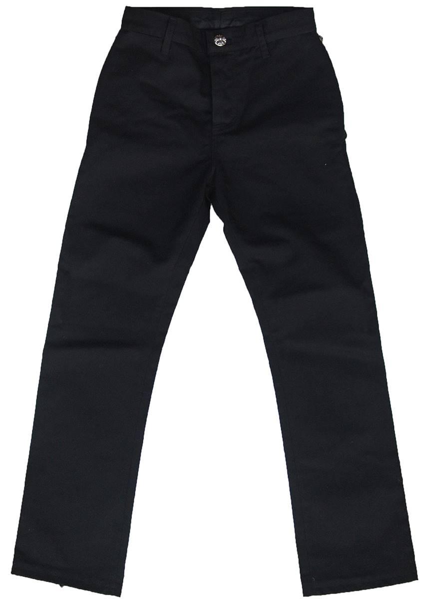 メンズファッション, ズボン・パンツ CHROME HEARTS BLACK DENIM PANTS UNISEX