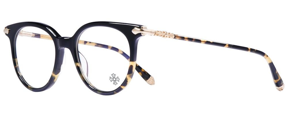 眼鏡・サングラス, サングラス CHROME HEARTS BLUEBERRY MUFFIN Black Maize-Hollywood Tortoise 49-19-143