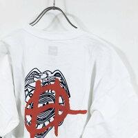 HUFハフRIOTTシャツ半袖メンズ【送料無料】hufworldwideプリントストリート系半袖Tシャツストリートカジュアルファッションブランドスケータースケートボードメンズtシャツ白ホワイトMLXL2XL