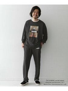 [Rakuten Fashion]TheShining StayHome SetUp Sonny Label サニーレーベル インナー/ナイトウェア ルームウェア/その他 ブラック ホワイト【送料無料】