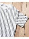 [Rakuten Fashion]ChampionボーダーTシャツ Sonny Label サニーレーベル カットソー Tシャツ ホワイト ブラック ネイビー