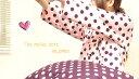 ガーリー ドット 水玉 パジャマ(polka dots pajamas:ガーリードット)【婦人 , 紳士 兼用】