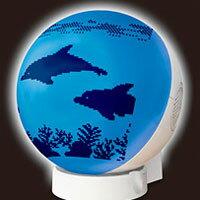 寝室やリビングが涼しい水族館の雰囲気に・・・SEIKOプロジェクタークロック 海洋楽園 オーシ...