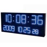 LED電波時計 LED-101BL LEDアクラート ブルー 【送料無料】