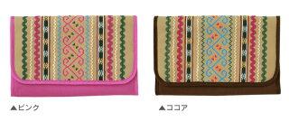 FICELLE「BOBO母子手帳ケース(ココア)」フィセルジャバラ【ゆうパケット発送のみ】