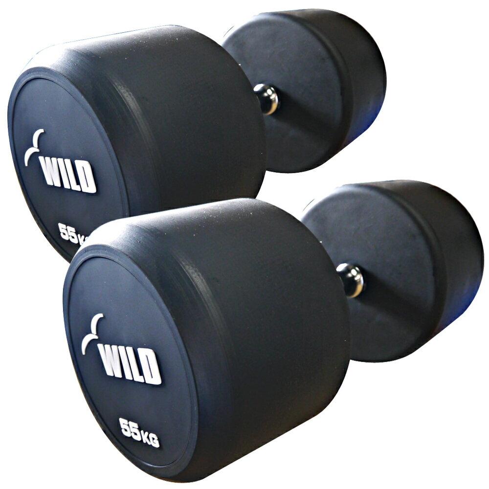 固定式ダンベル 55kg WF 2本セット【代金引換不可】[Slim Fit スリムフィット]送料無料 ダンベル ウエイト 筋トレ トレーニング 腹筋 背筋 ベンチプレス ジム 鉄アレイ