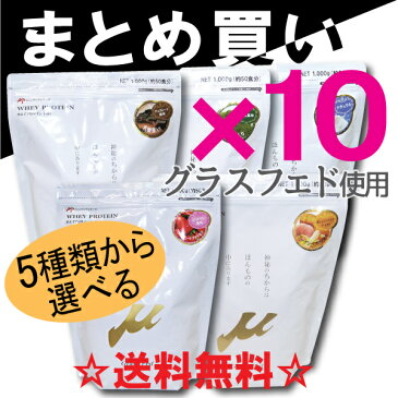 【まとめ買い】μ-up ホエイプロテイン100 10袋セット[μ-up(ミューアップ)シリーズ][WILD FIT ワイルドフィット] 送料無料 サプリメント オリジナル トレーニング 10kg