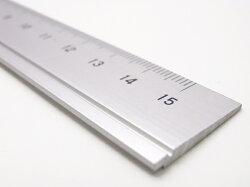 【ネコポス可】アルミ定規15cm