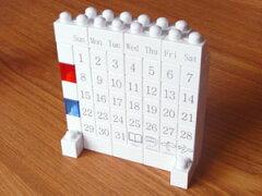 【万年カレンダー/暦/パーペチュアル/オールウェイズ/Perpetual Calendar】ブロック  カレンダー...