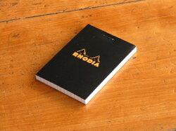 Rhodia/ブロックロディアNo.11リフィールメモ(ブラック)