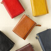 【送料無料/名入れ可:】AZ 三つ折り財布