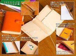 【限定販売/送料無料/名入れ可:】BTA7ノートカバー