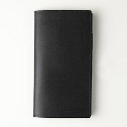 【受注製作/送料無料/名入れ可:】LCスリムロング手帳カバー・スリム