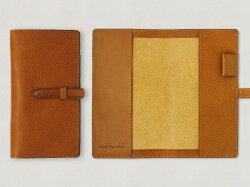 【受注製作/送料無料/名入れ可:】MBスリムロング手帳カバー・ベルト付き【納期:2ヶ月】