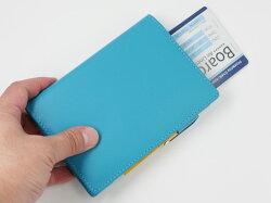 【名入れ可】ノワールパスポートケース