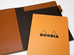 【送料無料/名入れ可:】RioRhodiaメモカバー#16(A5サイズ)