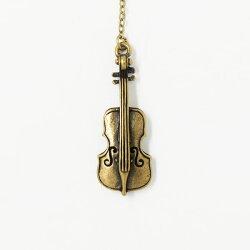 【ネコポス可】ブックマークバイオリン