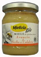 送料無料 非加熱・無添加 ミエリツィア オレンジの香り漂う柑橘系ハチミツ 250g×120EU…
