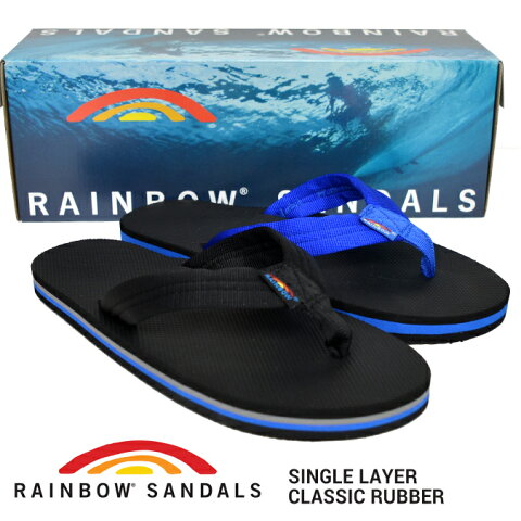 【割引クーポン配布中】 RAINBOW SANDALS レインボーサンダル SINGLE LAYER CLASSIC RUBBER SANDAL シングルレイヤー ラバーサンダル ビーチサンダル メンズ 301ARP 【バーゲン】