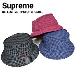 e82fe522b0f 【10%OFFクーポン配布中】 Supreme シュプリームREFLECTIVE RIPSTOP LOW CRUSHER HAT ハット