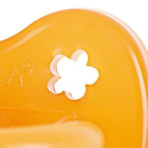 デンマークHEVEAヒーヴィア天然ゴムおしゃぶり矯正型3〜36ヶ月‐FLOWER