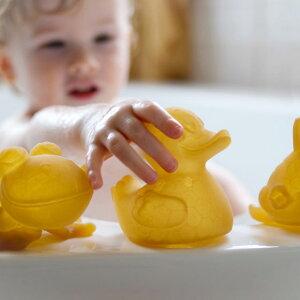 お風呂おもちゃ水遊び出産祝いベビーかわいいラバーデンマークHEVEAヒーヴィア天然ゴムバストーイ