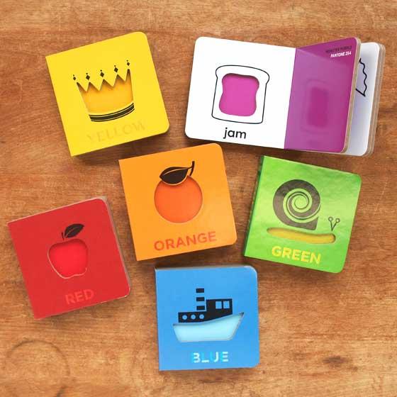 絵本 セット 英語 色 出産祝い 誕生日 外国の絵本 アメリカ出版 ミニボードブックセット Pantone Box of Color bb