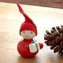 フィンランド Aarikka(アーリッカ) TONTTU 木製人形−プレゼント運び