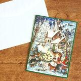 ドイツ R.Sellmer Verlag社 クリスマス アドベントカレンダー カード 森のクリスマス【メール便対象品】